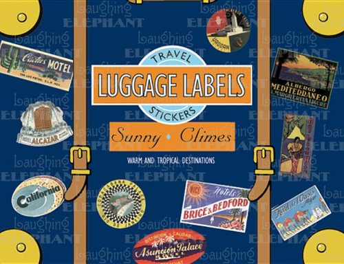 9781883211691: Sunny Climes Luggage Labels
