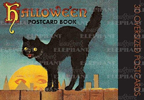 Halloween Postcard Book: Laughing Elephant