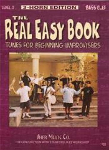 9781883217204: The Real Easy Book, Level 1: Tunes for Beginning Improvisers (bass clef)