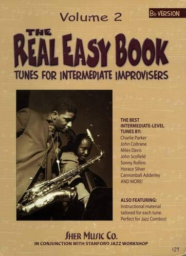 9781883217211: The Real Easy Book: Tunes for Intermediate Improvisers - Volume 2 (Bb Version)