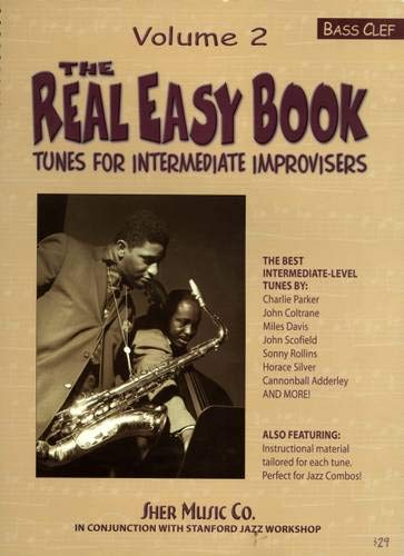 9781883217235: The Real Easy Book, Vol. 2: Tunes for Intermediate Improvisers (bass clef) (The Real Easy Books)
