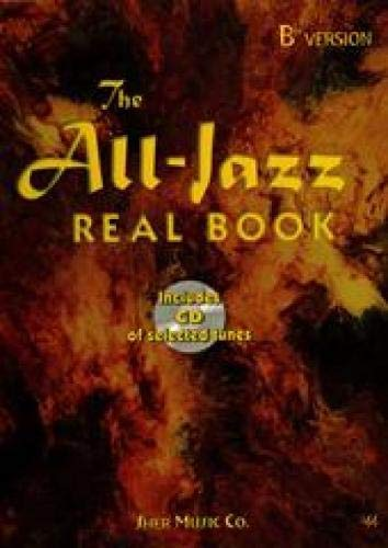 9781883217341: The All-jazz Real Book Bb + CD