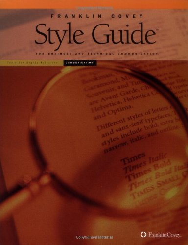 9781883219826: Style Guide: For Business and Technical Communication