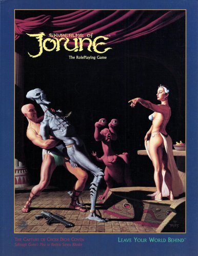 Skyrealms of Jorune The Roleplaying Game Book: Leker - Teves