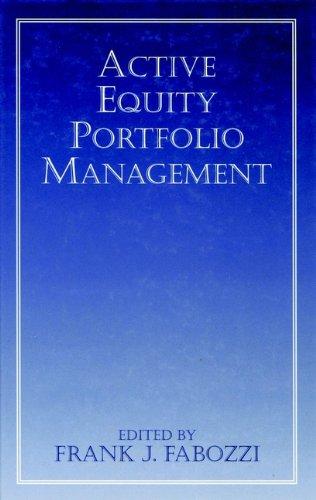 9781883249304: Active Equity Portfolio Management