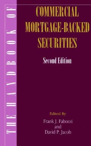 The Handbook of Commercial Mortgage-Backed Securities (Hardback): Fabozzi