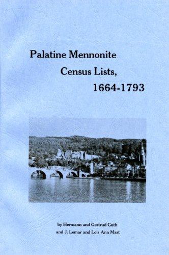 9781883294984: Palatine Mennonite Census Lists, 1664-1793