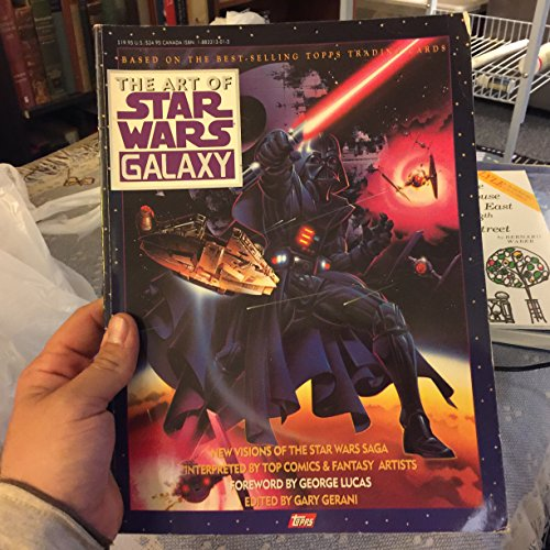 ART OF STAR WARS GALAXY ; BASED ON THE BEST - SELLING TOPPS TRADING CARDS ( 2 TWO VOLUMES ): Gerani...