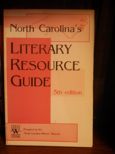 9781883314101: North Carolina's Literary Resource Guide