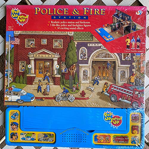 Police & Fire Station/796037 (Pop-Up Sound-Up): Yes Entertainment Corp