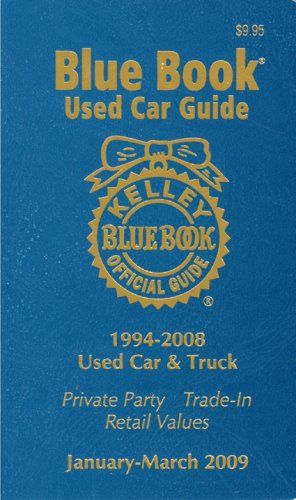 Blue Book Truck Value >> 9781883392758 Kelly Blue Bk Used Car Guide Jan March 2009