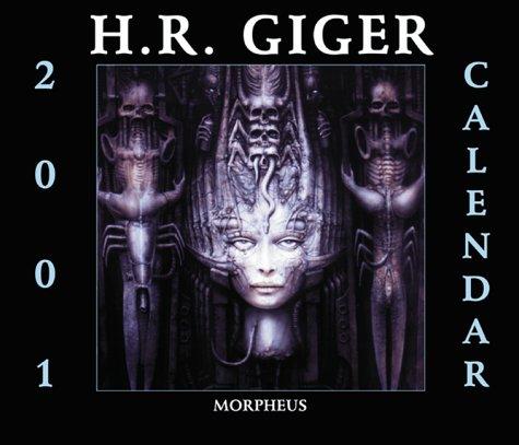 9781883398439: H.R.Giger Calendar 2001