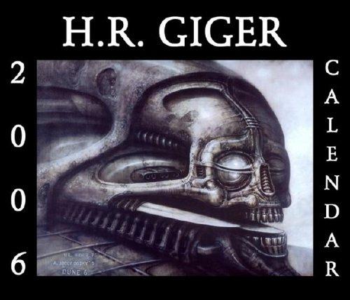 9781883398590: H. R. Giger 2006 Calendar