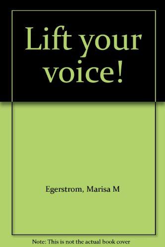 9781883477363: Lift your voice!