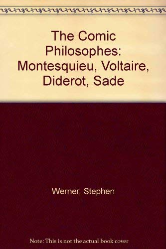 9781883479404: The Comic Philosophes: Montesquieu, Voltaire, Diderot, Sade (French Edition)
