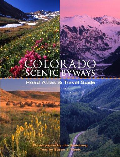 9781883498689: Colorado Scenic Byways Road Atlas & Travel Guide
