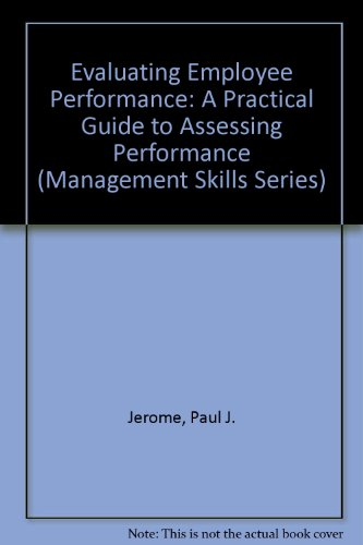 9781883553623: Evaluating Employee Performance: A Practical Guide