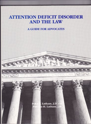 9781883560003: Attention Deficit Disorder and the Law