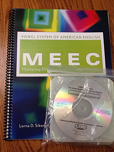 9781883574093: Mastering Effective English Communication: Vowel System of American English