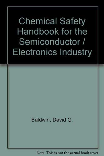 9781883595074: Chemical Safety Handbook for Semiconductor-electronics Industry