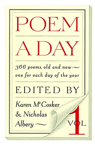 Poem a Day, Vol. 1: Karen McCosker and Nicholas Albery