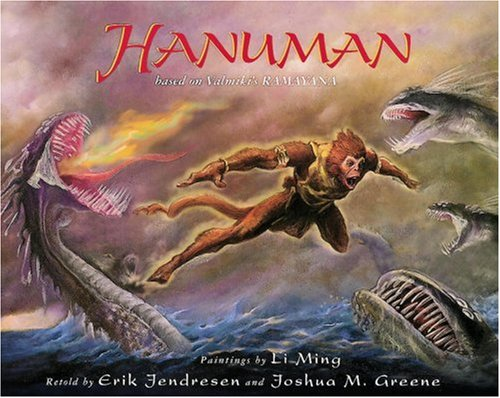 9781883672782: Hanuman, based on Valmiki's Ramayana
