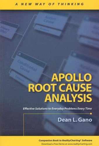 9781883677114: Apollo Root Cause Analysis: A New Way of Thinking