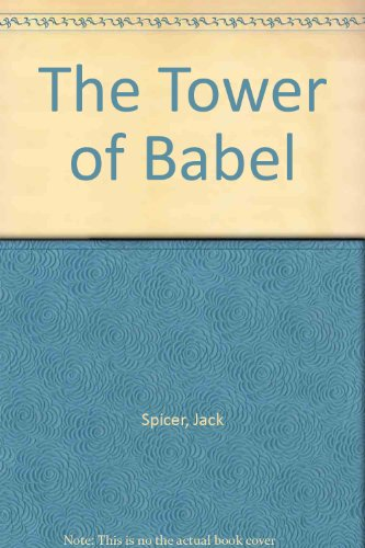 9781883689056: Jack Spicer's Detective Novel: The Tower of Babel