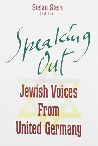 Speaking Out. Jewish Voices from United Germany. Photographs by Todd Weinstein.