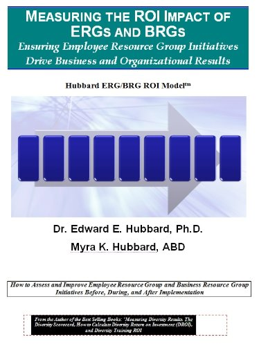 9781883733162: Measuring the ROI Impact of ERGs and BRGs: Ensuring Employee Resource Group Initiatives Drive Business and Organizational Results