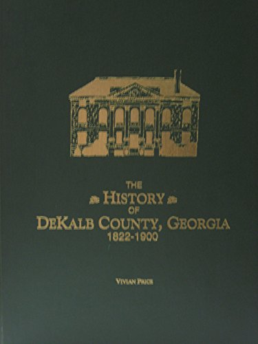 History of Dekalb County, Georgia, 1822-1900: Price, Vivian