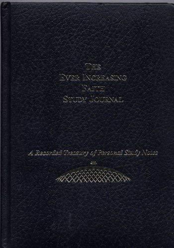 9781883798765: The Ever Increasing Faith Study Journal