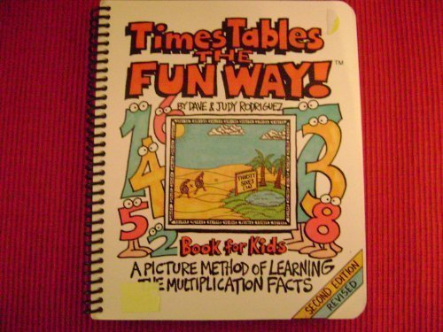 9781883841263: Times Tables the Fun Way: Book for Kids : A Picture Method of Learning the Multiple Facts