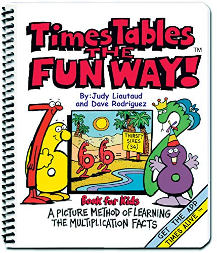 9781883841430: Times Tables the Fun Way Book for Kids: A Picture Method of Learning the Multiplication Facts
