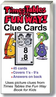 9781883841447: Times Tables the Fun Way: Clue Cards