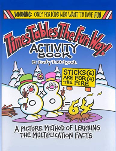9781883841485: Times Tables the Fun Way Activity Book : A Picture Method of Learning the Multiplication Facts