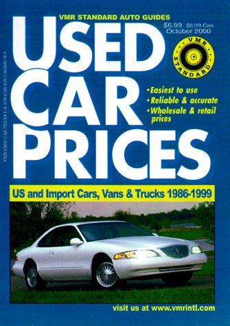 9781883899387: VMR Standard Used Car Prices (VMR Standard Auto Guides)