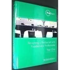 9781883904876: Becoming a Foodservice Professional: Year 1