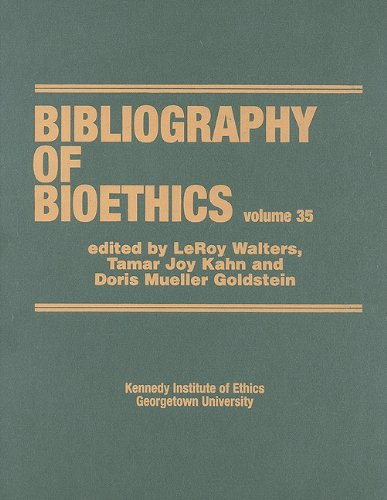 9781883913168: 35: Bibliography of Bioethics
