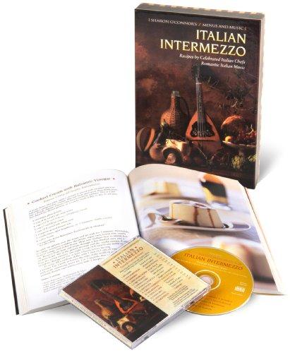 9781883914233: Italian Intermezzo: Recipes by Celebrated Italian Chefs, Romantic Italian Music (Cookbook & Music CD Boxed Set)