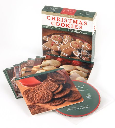 9781883914585: Christmas Cookies (MusicCooks: Recipe Cards/Music CD), Holiday Cookie Baking, Music of the Nutcracker Ballet