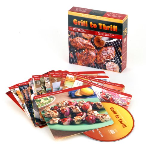 9781883914653: Grill to Thrill (MusicCooks: Recipe Cards/Music CD), Recipes for Easy Grilling, Rock & Soul Music for Cookouts (Sharon O'Connor's MusicCooks)