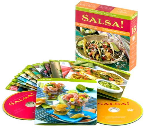 9781883914660: Salsa!:Recipes for Latin Dishes with Sizzling Salsa Music (MusicCooks: Recipe Cards/Music CD/DVD)