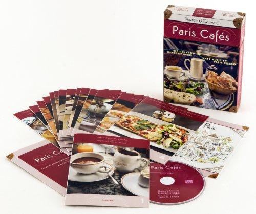Paris Cafés: Recipes from the heart of Paris, Music by Paris Combo (MusicCooks Travel Series...