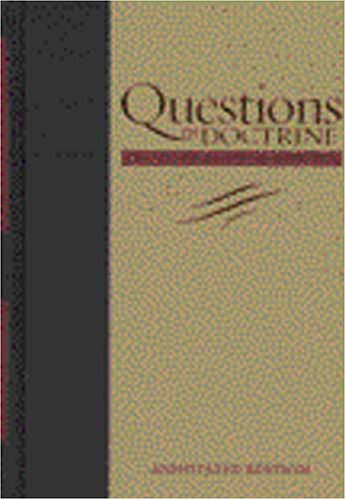 9781883925413: Questions on Doctrine (Adventist Classic Library)