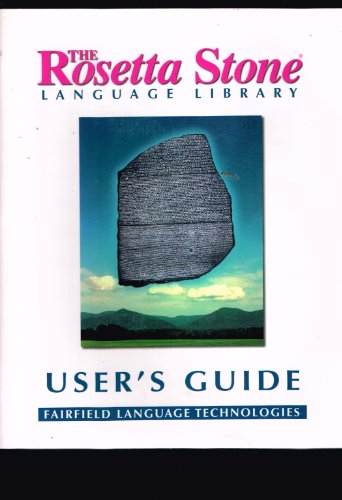 9781883972455: The Rosetta Stone Language Library Student Study Guide (Spanish 1 -- Espanol 1)