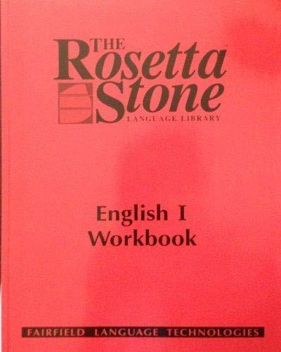 9781883972462: Rosetta Stone English (US) Student Workbook Level 1