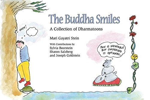 9781883991289: The Buddha Smiles: a Collection of Dharmatoons