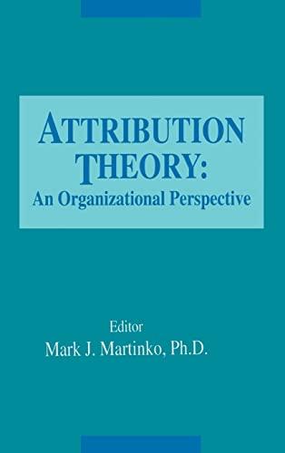 Attribution Theory: Mark Martinko