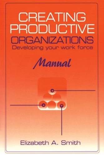 Creating Productive Organizations: Developing Your Work Force: Elizabeth Smith